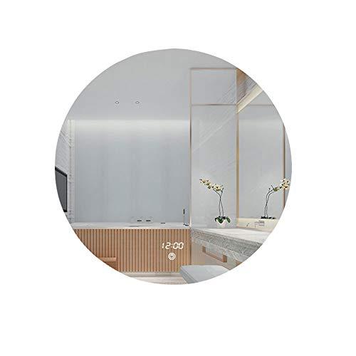 HU WU Badspiegel - wandmontierter, intelligenter Antibeschlagspiegel, stufenlos dimmbar, explosionsgeschützt