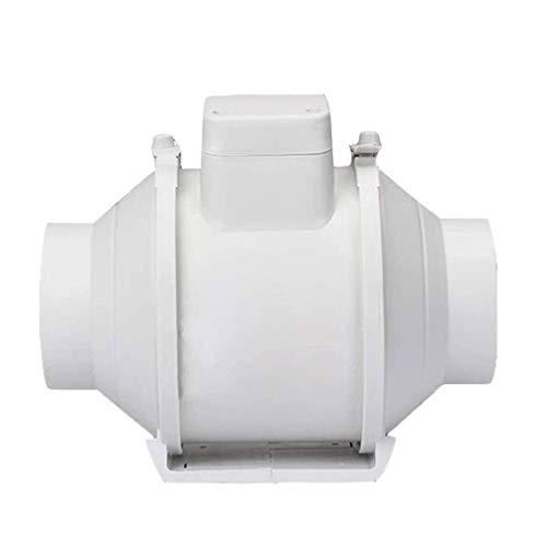 YGB Ventiladores de Ventana, tubería de ventilación de Pared, Cocina, Inodoro, Ventilador, Ventilador silencioso, Extractor de baño, Ventilador de ventilación de Aire