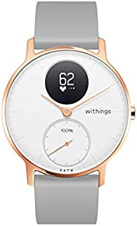 Withings/Nokia | Steel HR Hybrid Smartwatch - Activity Tracker with Connected GPS, Heart Rate Monitor, Sleep Monitor, Smart Notifications, Water Resistant with 25-day battery life