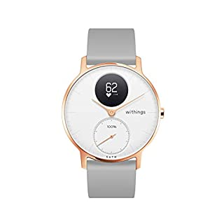 Withings Steel HR Reloj Inteligente, Unisex Adult, Azul, 36mm (B07PPCBXL8) | Amazon price tracker / tracking, Amazon price history charts, Amazon price watches, Amazon price drop alerts