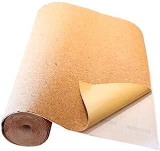 VViViD Adhesive Backed Natural Texture Cork Board Sheet Paper Long Roll (2 Inch x 10ft)