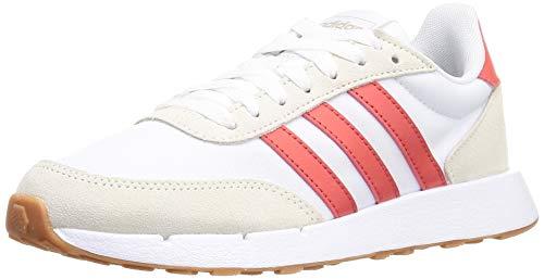 adidas Run 60s 2.0, Laufschuhe für Damen, Mehrfarbig - Mehrfarbig (Ftwbla Rojtri Griorb) - Größe: 40 EU