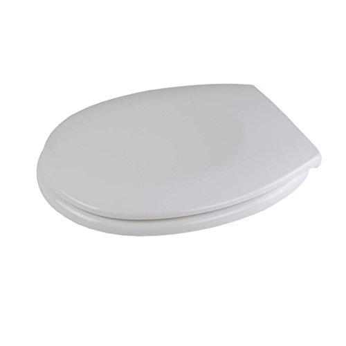 WC Sitz Duroplast Absenkautomatik weiß Klobrille Toilettendeckel Klodeckel