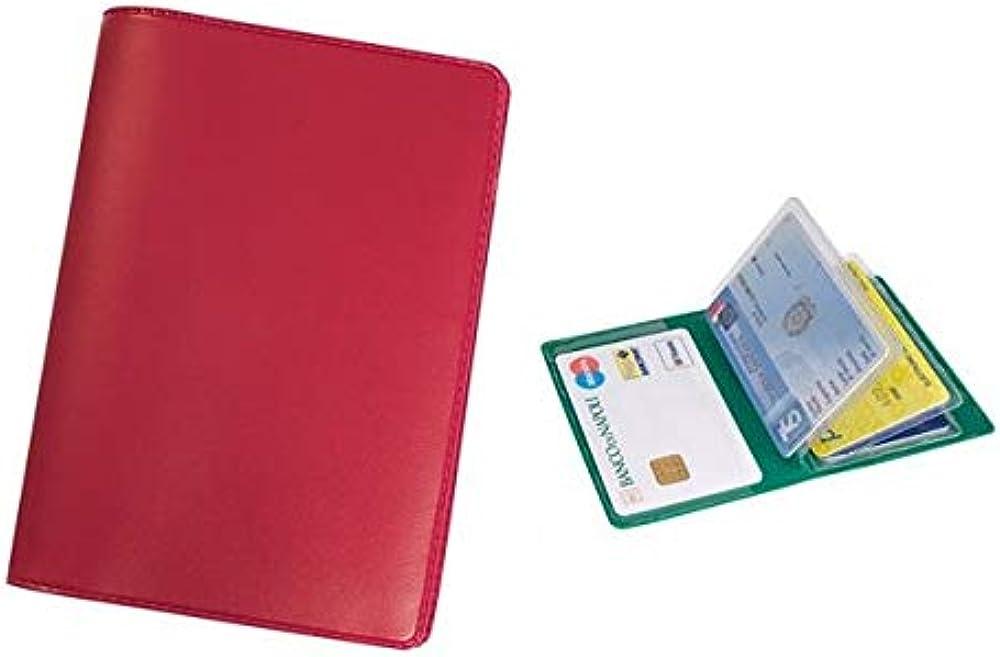 agendepoint.it, porta carte di credito e tessere magnetiche,  6 posti,  in pvc pn273ro