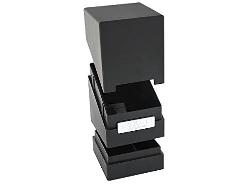 Ultimate Guard Monolith Deck Case 100+ Standard Size Black Card Game