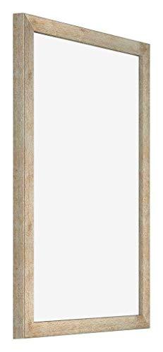 yd. - 30x45 cm - Cadres Photo en MDF avec Verre Plexiglas - Excellente Qualité - Or - Plaque de Verre Résistant Aux UV - Anti-Reflet - Cadre Decoration Murale - Catania.