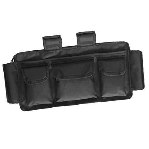 IPOTCH Aufbewahrungstasche, Gepäcktasche, Rollstuhl-Armlehne Große und kleine Reißverschlusstaschen