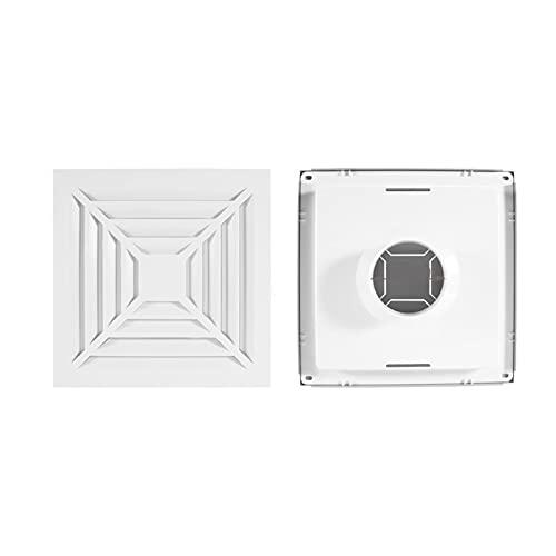 Ming Ming Avvertenziali in Alluminio con canalizzazione per Condotto in Lega di Alluminio 100mm 150mm 150mm Diffusore d'Aria Quadrata Estrattore Esterno Outlet Cover Ventilazione (Color : 100MM)