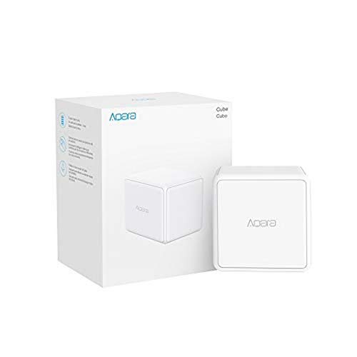 Aqara Cube, Requires AQARA HUB, Zigbee Connection, Magic Cube Controller, 6 Customizable Gestures to Control Your Smart Home Devices, 2 Year Battery Life