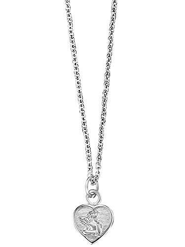 Herzengel Kinder-Halskette Silber Schutzengel HEN-ANGELI-HEART