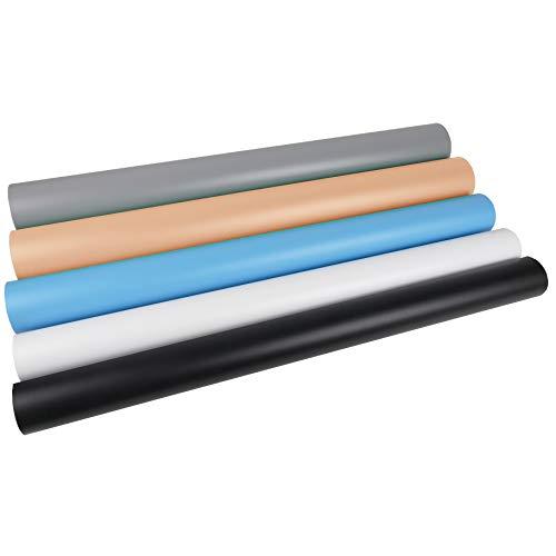 Oferta de BeMatik - Fondos de estudio de PVC de 130x68cm 5 colores