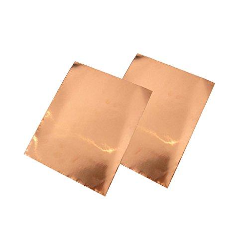 2Pcs Abschirmband Kupferfolie Kupferband Selbstklebend Klebeband- 30cm x 22.5cm