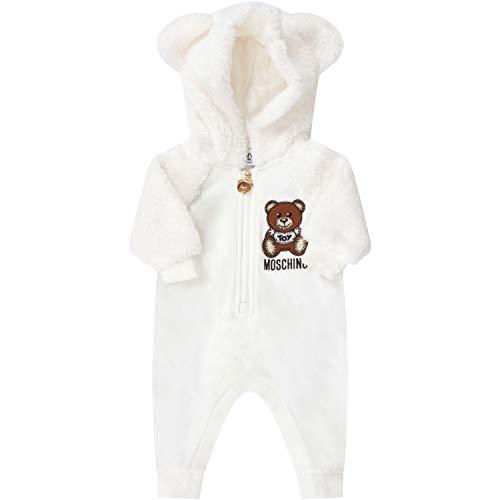 Moschino Kinder Strampler Baby Elfenbein Mut01q lda16 10063