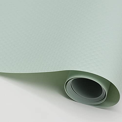 LEISHENT Shelf Liner Elegant and Practical Non-Sticky Waterproof Durable and Strong for Drawer,Shelf,Cupboard,Storage,Desk,Kitchen,Dark Green,0.45x15m