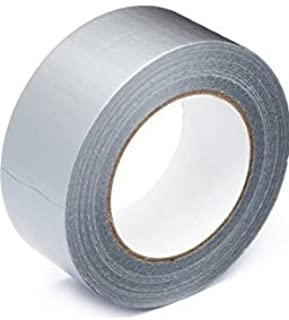 """2 Rolls 30 FT x 1.89/"""" Industrial Utility Craft Hardware Duct Tape Silver LOT 2"""