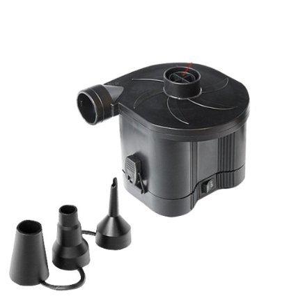 バッテリー電動ポンプ (空気入れ&空気抜き両対応) 電池式ポンプ・エアーポンプ・電池式空気入れ