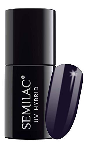 Semilac UV-Hybrid-Nagellack, Nr. 089, 7 ml, Black Plum