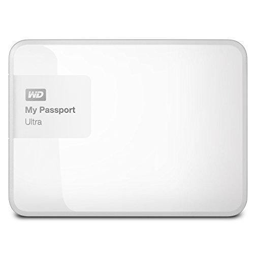 WD 1TB White My Passport Ultra Portable External Hard...
