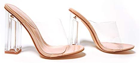 Clear high heel boots _image3