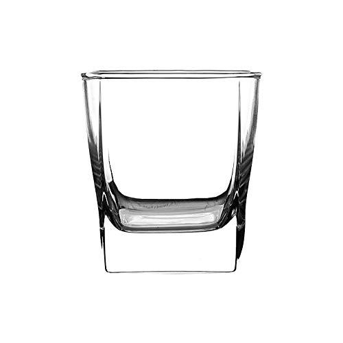 LeiDyWer Stoviglie Casa Cucina Tazze Grandi Bicchiere Sifang, Bicchiere da Vino, Bicchiere Spiritoso, Boccale da Birra, 6 Confezioni