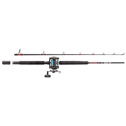 Abu Garcia MT602SWH/GT345 Right Hand Boat Rod and Fishing Reel Combo - 6...