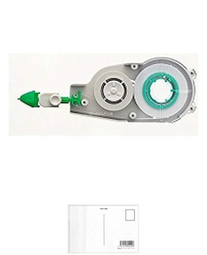 トンボ鉛筆 修正テープ MONO モノCXカートリッジ 4.2mm CT-CR4 【× 7 個 】 + 画材屋ドットコム ポストカードA