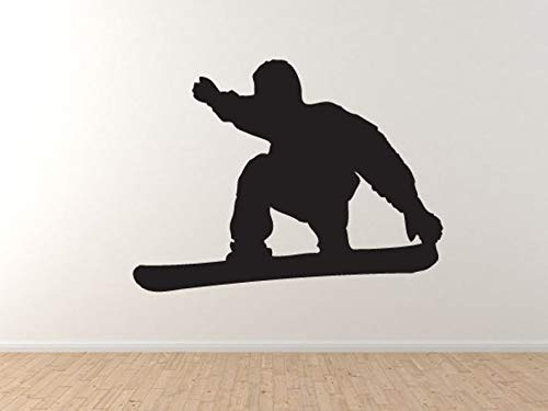 Snowboard Trick #11 - Mountain Downhill Competitieve muur Vinyl Decal Home Decor