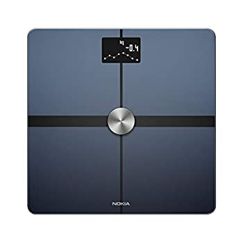 Withings Body+ - Digital Wi-Fi Smart Scale with Automatic Smartphone App Sync Full Body Composition Including Body Fat BMI Water Percentage Muscle & Bone Mass with Pregnancy Tracker & Baby Mode