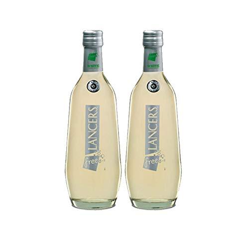 Vino Lancers Blanco Free de 75 cl - D.O. Setubal - Bodegas Gonzalez Byass (Pack de 2 botellas)