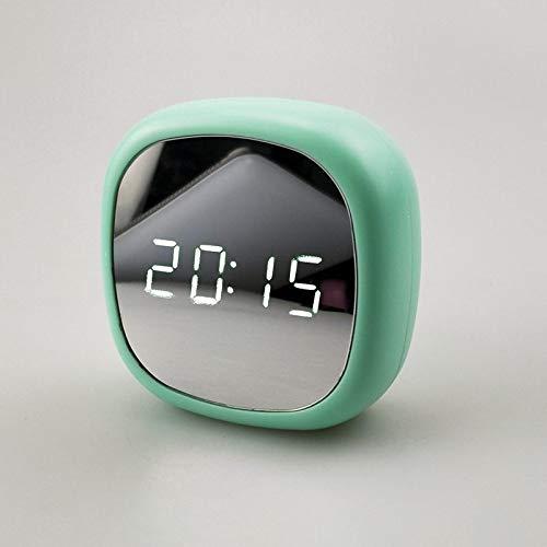 GYZBYMultifunktionswecker Führte Elektronische Uhr Des Schminkspiegels