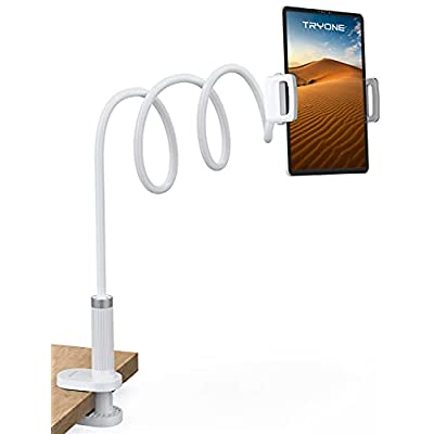 Gooseneck Tablet Holder Stand for Bed: Tryone A...