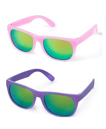 Kiddus Gafas de Sol POLARIZADAS para niña, niño, chico, chica. CAMBIAN DE COLOR cuando se exponen a luz solar directa. UV400 Protección 100% contra rayos ultravioleta. A partir de 6 años.