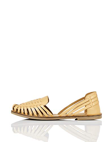 find. Hurrache Sandalias con Punta Cerrada, Beige (Natural), 39 EU