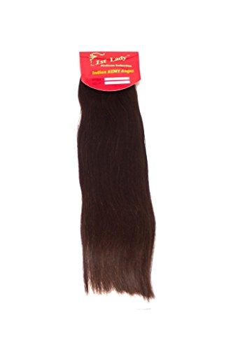 45,7 cm Premium indien Ange 100% Remy Extension de cheveux humains tissage 113 g # S0 (# 2)