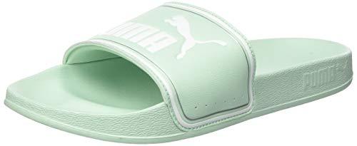 Puma Unisex-Erwachsene Leadcat FTR Dusch und Badeschuhe, Grün (Mist Green White Silver 03), 40.5 EU