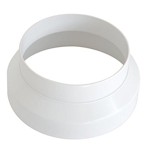 La Ventilazione CRC150B Cono di Riduzione in ABS F/M, diametri da 150 a 121 mm