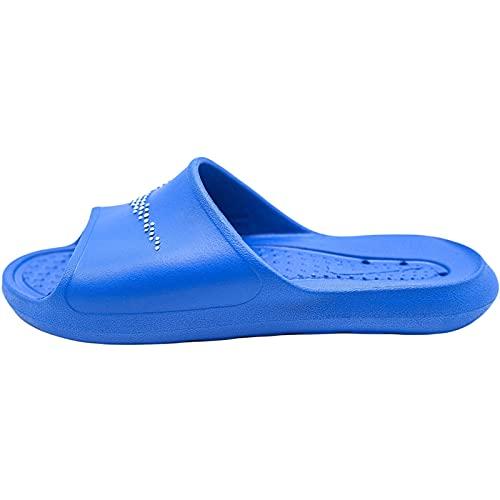 Nike Victori One Shower Slide, Sandal Homme, Game Royal/White-Game Royal, 42.5 EU
