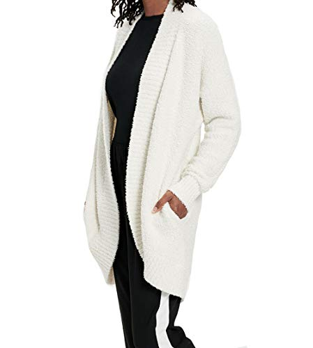 UGG Fremont Fluffy Knit Cardigan, Cream, m