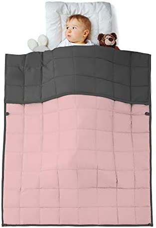 Weighted Blanket Kids Reversible Cooling Heavy Blanket Super Soft Microfiber Material with Premium product image