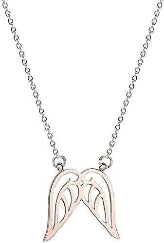 LBBYLFFF Collar Collar para Hombre con Colgante Collar de Acero Inoxidable con Escenario Lunar Joyas de Galaxia Mujer Colgante Lunar con Estrella Ephiffa Collar Collar Dorado Collar de Regalo Niños