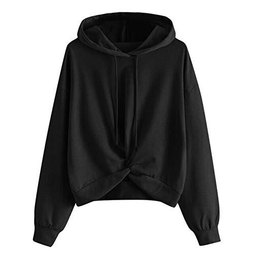ZCMWY Pullover XL met capuchon sweatshirt voor de lentevrouwen trui overstijgt casual drawstring oversized hoodie-vrouwenkleding normale lak-nette