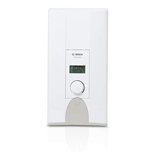 Bosch elektronischer Durchlauferhitzer Tronic Advanced Plus, 18/21 kW, Übertisch mit gradgenauer Temperatur-Einstellung und LCD-Anzeige, solargeeignet