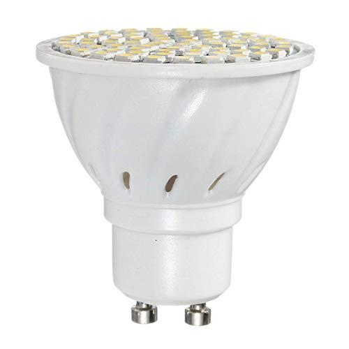 Allamp LED-Birnen-GU10 3.5W 72 SMD 3528 Pure White LED Spot Lightt Birnen Lampen AC110V