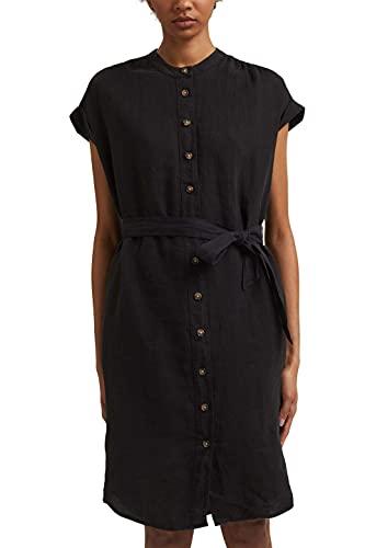 edc by Esprit 051CC1E314 Vestido, 001/Black, 34 Regular para Mujer