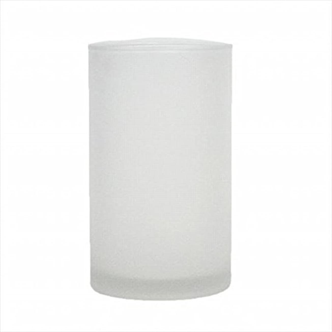 kameyama candle(カメヤマキャンドル) モルカグラスSフロスト キャンドル 90x90x155mm (65980000)