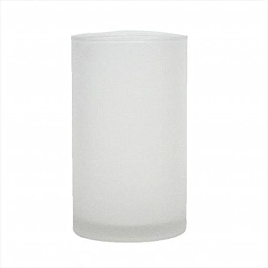 ボット荒野詳細にkameyama candle(カメヤマキャンドル) モルカグラスSフロスト キャンドル 90x90x155mm (65980000)