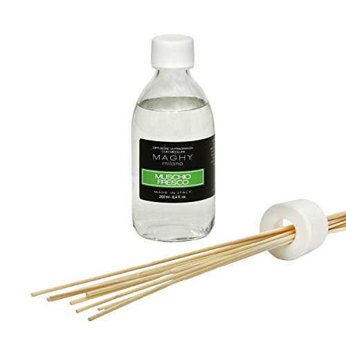 Profumatore per ambienti Maghy, da 250 ml, muschio Fresco Muschio Fresco