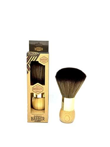 Barber Academy Friseur Nacken Bürste | Salon Neck Brush | Talkum Puder Bürste-Pinsel | Nackenwedel...