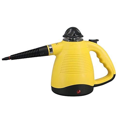 220V Multifuncional de mano de alta presión limpiador a vapor limpiador de ventanas de automóviles Hogar Oficina en el hogar Sala de limpieza Electrodomésticos,Amarillo