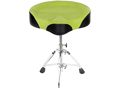 Drum Stool Heavy Duty Drum Thrones Saddle Design Fixed Seat...